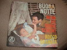 """ROCCO GRANATA """" BUONANOTTE - WENN DIE SONNE SCHEINT """" IN TEDESCO GERMANY''6?"""
