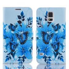 Book Handy Tasche Samsung Galaxy S5 Sm-g900f Cover Schutz hülle Etui Case 139