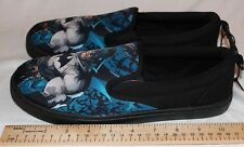 DC Comics Men's Batman Canvas Slip-On Shoes Size 9