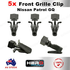 Front Grille Clips For Nissan Navara Patrol GQ Y60 Ford Maverick MQ Set Of 5