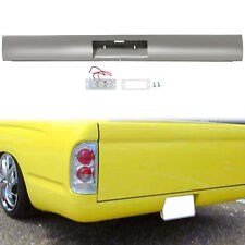 Steel Rear Bumper Roll Pan Withled License Plate Light For 1995 2004 Toyota Tacoma Fits 1998 Tacoma