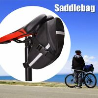 Cycling Mountain Bicycle Bike Saddle Outdoor Pouch Seat Tail Bag Waterproof