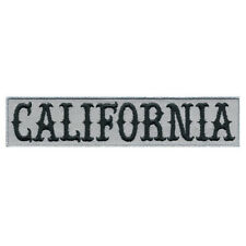 """VEGASBEE® CALIFORNIA EMBROIDERED DECORATIVE PATCH SIZE SMALL 4.7""""L x 1""""W VELCRO®"""