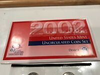 2002 UNITED STATES MINT UNCIRCULATED COIN SET DENVER MINT WITH COA