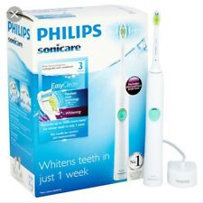 Philips Sonicare HX6530 EasyClean Rechargeable Toothbrush-NEW with Charger +Head