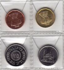 2008 Egypt Египет Coin Uncirculated conditions,5 ,10 ,25 Piasters,Lot of 4 coins