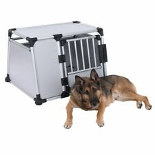 Large Dog Crate Cage Aluminium Strong Robust Lightweight Quality FREE Straps