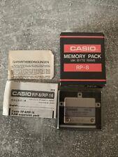 MEMORY PACK CASIO RP-8 (8K BYTE RAM) Erweiterung für FX-730P / 850P / 880P #513