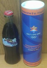 COCA-COLA ~ 2002 ~ SALT LAKE CITY ~ WINTER OLYMPICS ~ BOTTLE + TUBE ~ LIMITED ED