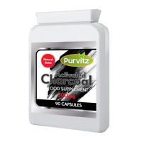 Carbone Attivo 90 Compresse/Pillole 300mg Ridurre Eccessivo Flatulenza UK