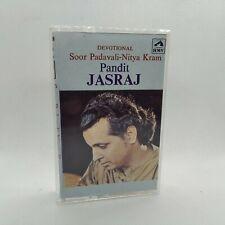 PANDIT JASRAJ - Soor Padavali-Nitya Kram - 1983 India Cassette Tape VG+