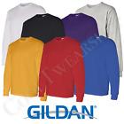 Gildan Heavy Cotton Plain Crew Neck Long Sleeves T-Shirt 5400