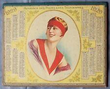 Almanach des Postes et des Télégraphes 1929 BE GERS Auch 84 pages Indic. bureaux