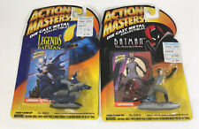 Action Masters Die Cast Metal Catwoman & Legends of Batman 1994 Lot of 2