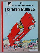 Peyo / Will   BENOIT BRISEFER n°1    **  LES TAXIS ROUGES  **  NEUF