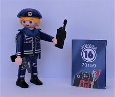 Playmobil  Mystery Series 16 Boys   Policeman   #70159  Mint Condition