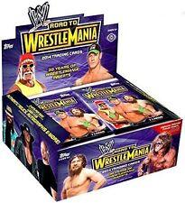 2014 Topps WWE Road to Wrestlemania Hobby Wrestling Box