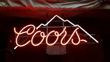 Coors light vintage neon beer bar sign mancave Local Pick Up Only