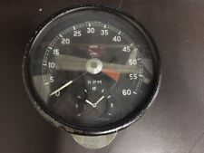 Smiths Tachometer Gauge with Clock for Jaguar XKE, EType & MKII - RV7413/00 USED