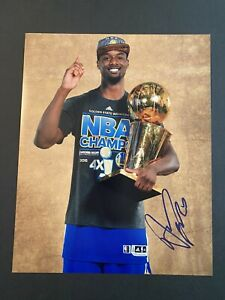 Harrison Barnes Signed 8x10 Photo Auto Golden State Warriors UNC Autograph COA