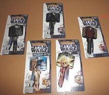 Star Wars metal Key set New yoda Darth Vader stormtrooper R2-D2 c-3po Maul toy
