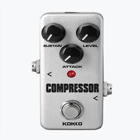 Studio Bass Compressor Pedal Bass Compression Effect Pedal