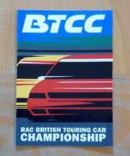 BTCC RAC British Touring Car Championship Race Motorsport Sticker / Decal