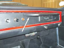 Maserati Sebring I dash leather covered grab bar