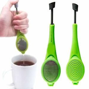 Strainer Reusable Tea Bag Infuser Filter Diffuser Loose Tea Leaf Silicon Tool·