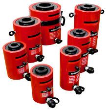 "Hollow Plunger 30 Ton Hydraulic Cylinder Jack Ram 3.93"" (100mm) Stroke"