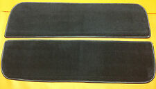 1973-93 DODGE PICKUP TRUCK CARPET KICK PANELS DOOR BOTTOMS NAVY BLUE