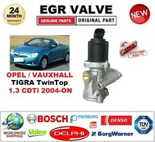 FOR OPEL VAUXHALL TIGRA TwinTop 1.3 CDTi 2004-ON Electric EGR VALVE 2PIN D-SHAPE