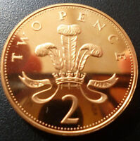 PROOF ENGLISH DECIMAL TWO PENCE 2p COINS CHOICE OF DATE 1971-2015