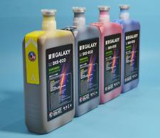 Bright Color Galaxy DX5 Eco Sovlent Ink for Mimaki Roland Printer  4color/set
