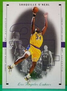 Shaquille O'Neal regular card 1998-99 Upper Deck SP Authentic #46
