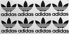 8X Adidas Logo Vinyl Decal Die Cut Cell Phone IPhone Snowboard Skate sticker JDM