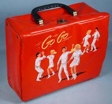 1966 Go Go Vinyl Lunch Box 1960s Teen Dancers Mini Skirts Mod Boots Aladdin