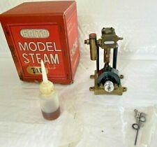 SAITO T-1D Steam engine for model ship marine boat single cylinder W/BOX & PARTS