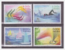 Aruba 2016 Olympic gamas Rio sailing swimming MNH