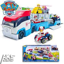 PAW Patrol Patroller Transporter Ryder Figure ATV Rescue Vehicle Kids Toy Gift