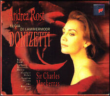 DONIZETTI Lucia di Lammermoor ANDREA ROST MACKERRAS 2CD Anthony Michaels-Moore
