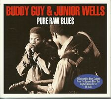 BUDDY GUY & JUNIOR WELLS PURE RAW BLUES - 2 CD BOX SET