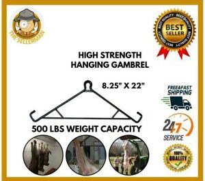 500 Lbs PORK MEAT Deer Hog Hook Hanger Hunting Lift Tool Hog butcher gambrel