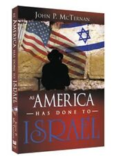 AS AMERICA HAS DONE TO ISRAEL | JOHN MCTERAN | WHITAKER HOUSE | BRAND NEW-Shrink