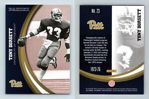 Tony Dorsett #23 Pittsburgh Panthers Collegiate 2016 Panini Trading Card