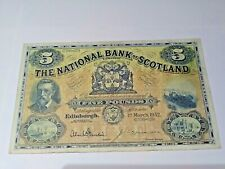 More details for huge national bank £5 issued 1952 c736-670 dandie & brown signatures