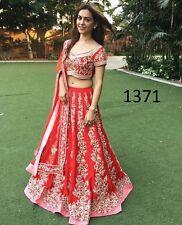 Wedding wear Lehenga Designer Indian Latest saree Bollywood lengha choli