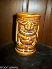 Vintage Tiki Mug Japan Orchids Of Hawaii Aloha vase R91 Warrior Dark