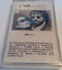 AMANDA Y DIEGO Tape Cassette HUSTORIAS DE AMOR 1989 WEA Latina -BRAND NEW SEALED