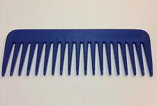 Strähnenkamm 15,5 cm blau BLUE  Kamm Afrokamm Lockenkamm